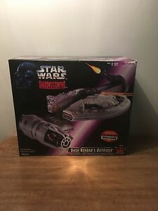 Star Wars Sote Les ombres de l'Empire Dash Rendar's Outrider1996 Kenner