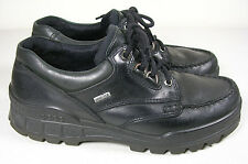 ECCO Track GTX Lace Up Casual Black Waterproof Hiking Shoe Mens 41 EU 7-7.5 US