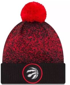 ddd19eabf86 New with tag Era Toronto Raptors Black On-Court Cuffed Knit Hat with ...