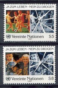 19350-UNITED-NATIONS-Vienna-1987-MNH-Anti-drugs