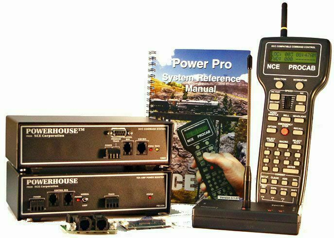 NCE 5240007 energia Pro Estrellater Set Wireless PH10-R 10A D408 D408 D408 4a Decoder O G SCALE 603a84