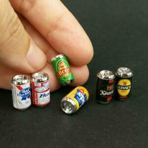 1-12-Doll-House-Doll-House-Ratio-Toy-House-Furniture-Can-Beer-6-Model-Toys-O1D5