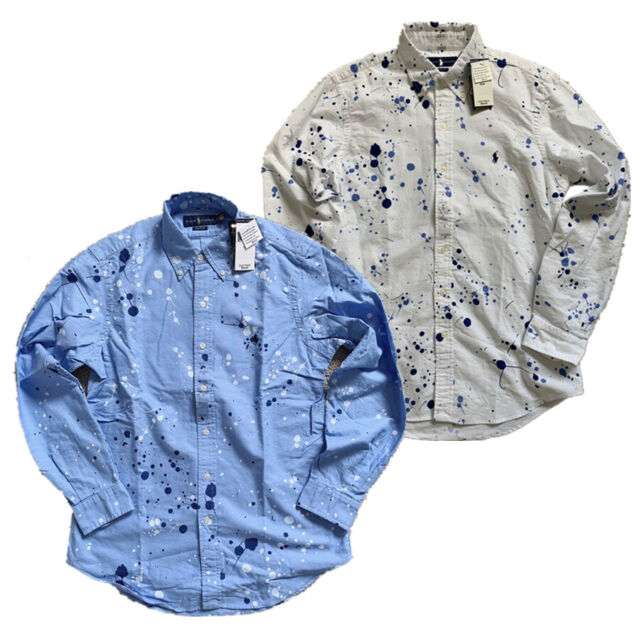 NWT CLASSIC FIT Men Polo Ralph Lauren Oxford Shirt Long Sleeves All Sizes