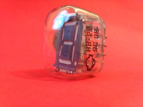 IV-22 IV22 ИВ-22 Nixie tube vintage soviet VFD indicator ussr clock NOS 100 pcs