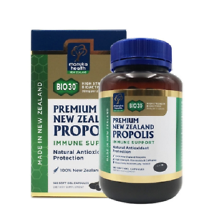 Details about 100% Pure New Zealand Manuka Health BIO30™ Propolis Capsules  ( 180 capsules )