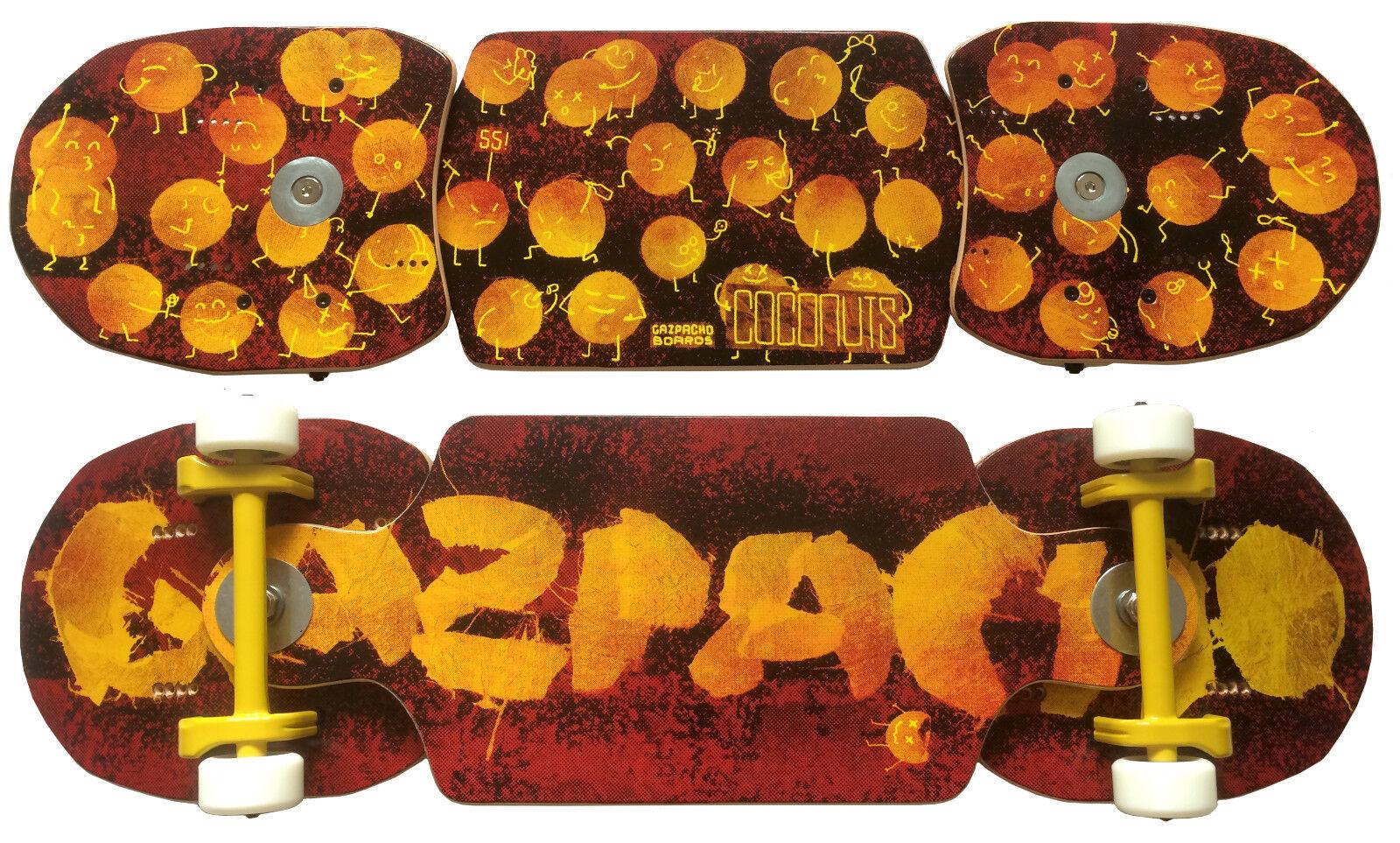 Snakeboard, original gazpacho Coconut Streetboard 55cm by gabi Muñoz (snowboard)
