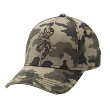Browning Men's Stalker Camo Cap Hat, Large/XL New Camo