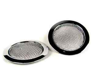 Sound-Ring-for-Dobro-amp-Resonator-guitar-Soundhole-Screens-chrome-CLOSEOUT