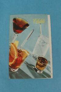 VINTAGE 1946 CHILD'S SOUVENIR RESTAURANT DRINK MENU MIAMI, FLORIDA