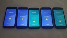 Lot of (5) - Motorola Moto G 3rd Generation (XT1540)  Consumer Cellular  Bad Sim