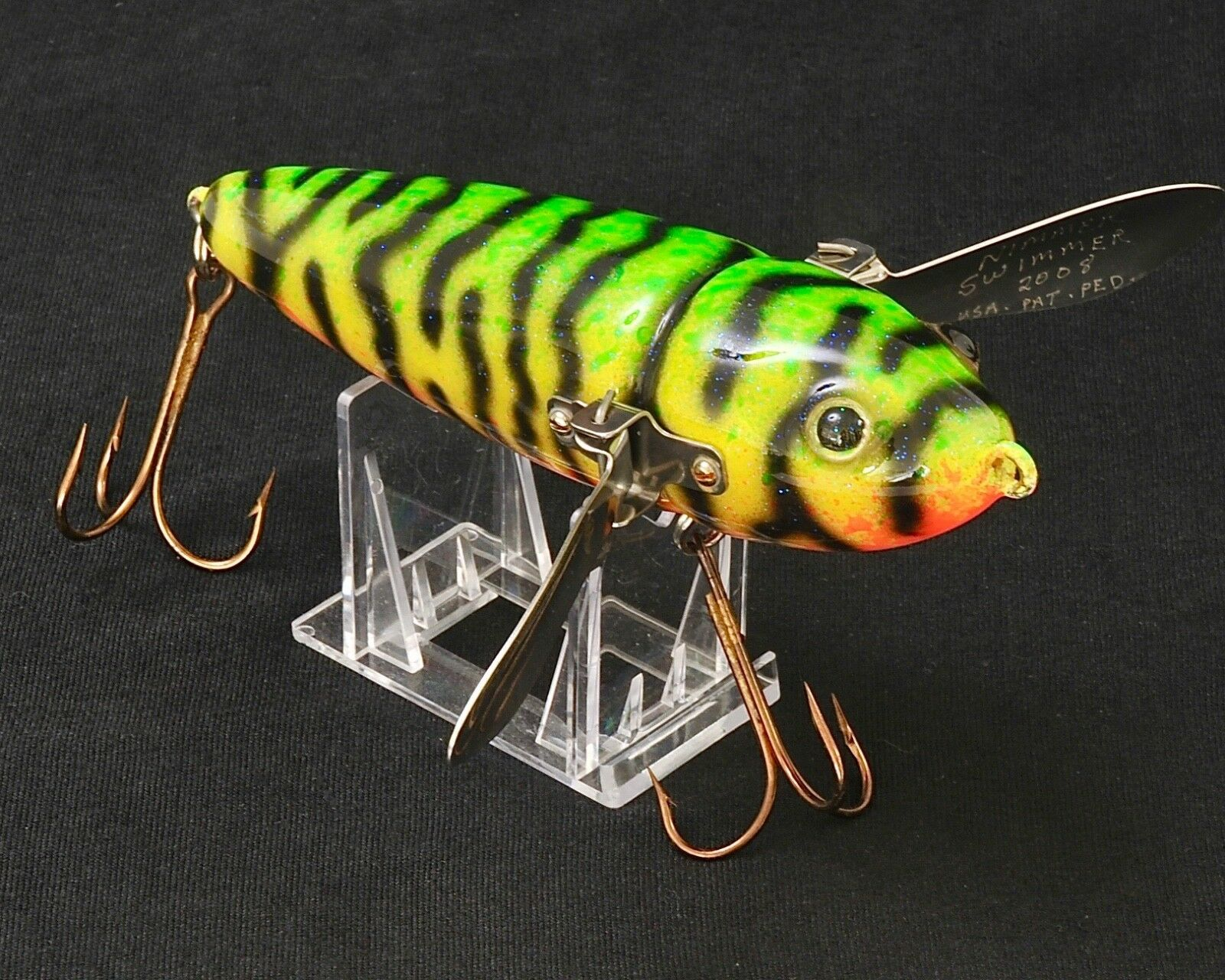 2008 Nimmer Swimmer Lure Bait Patent Pending RARE Never in Water Don't Miss