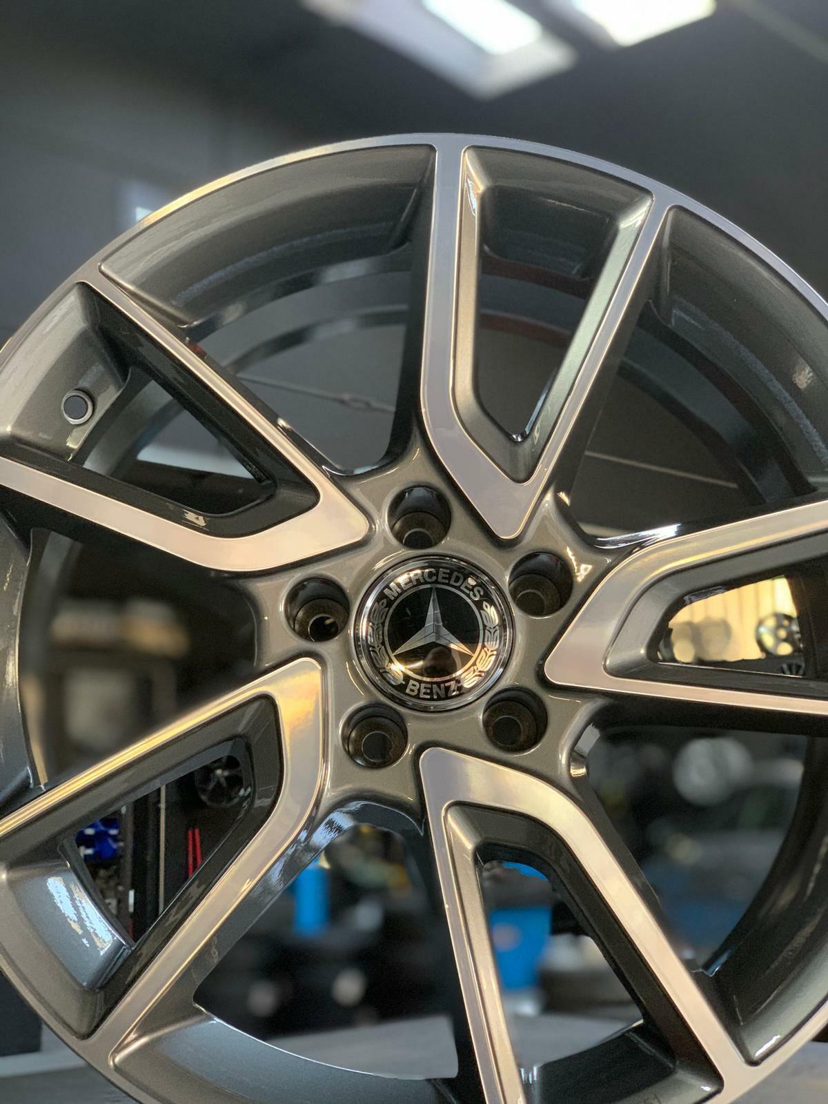 "Cerchi in lega MAK KOMET SILVER Mercedes CLK-KLASSE 209 2002/>2010 18/"" 8 5X112 ET"