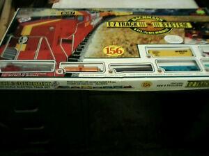 Vintage-Bachmann-Ez-Track-Thunderbolt-156-piezas-Conjunto-de-Tren-Electrico-Escala-Ho