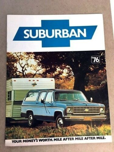 1976 Chevrolet Chevy Suburban Sales Brochure
