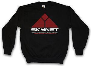 Terminator Skynet de Cyberdine de 1000 Systems 800 de Pull T Sweat sueur Logo v5qSgwX