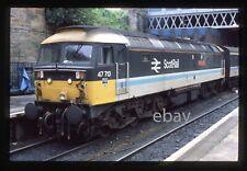 ORIGINAL 35mm slide- Class 47/7 47713 'Tayside Region' at Glasgow Queen Street
