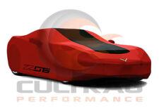 2015-2017 C7 Corvette Z06 Genuine GM Redline Outdoor Car Cover Z06 Logo 23187877
