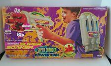 Vintage 1998 Larami Super Soaker Charger Power Pak Water Constant Pressure NIB