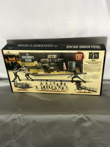 Walking Dead costruzione Governatore/'S ROOM Action figure McFarlane AF WD 2