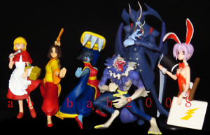 Yujin Vampire Savior part.2 figure gashapon set (full set of 6 figures)