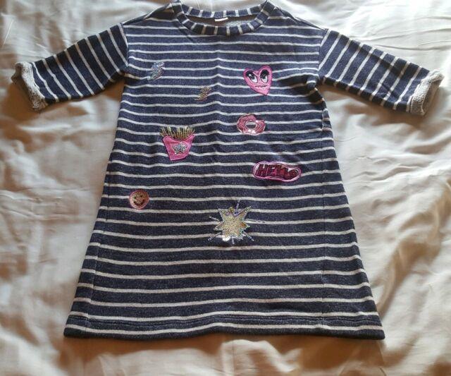 NEW Gymboree Funny Face Sweatshirt Dress NWT 5 6 7 8 10 Year Cosmic Club Line
