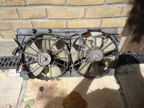2000 Toyota Celica 1999 To 2006 1.8 Petrol Twin Cooling Fan Assembly