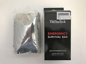 Reusable Emergency Sleeping Bag Thermal Survival Camping Travel Bag Waterproof