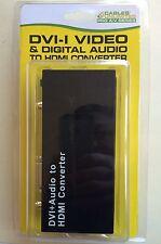 DVI + Audio to HDMI Converter