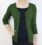 Women-Fitted-Cardigan-V-Neck-3-4-Sleeve-Vintage-Soft-Knit-Basic-amp-Plus-Size thumbnail 67