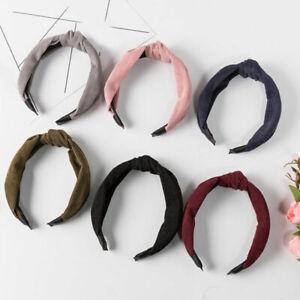 Vintage-Wide-Brimmed-Corduroy-Headband-Cross-Knotted-Hair-Hoop-Hair-Accessories