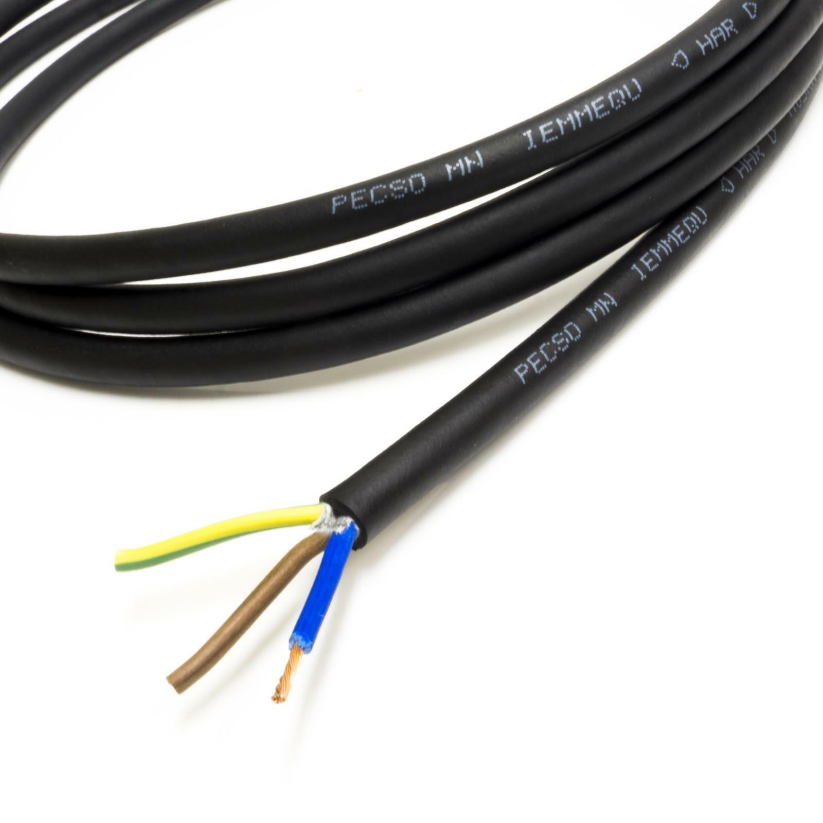 H05RN-F Gummi Kabel für Handheld Geräte 240v Netzteil Kabel