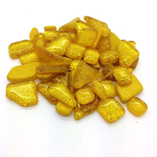 Glitter Murrini Shapes Gold