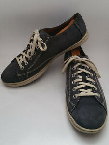 born kai womens 11 blue nubuck leather casual walking