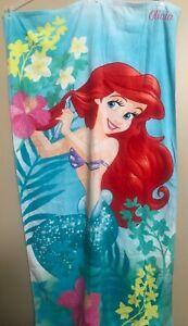 Disney Store Disney Parks Princess Little Mermaid Ariel Girls Beach Towel