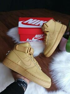 brand new 4592f 54611 Details about SIZE 7 WOMENS NIKE AIR FORCE 1 HIGHT UTILITY AJ7311 700  CASUAL RUNNING SHOES