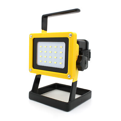 30W 24LED Arbeitsleuchte Baustrahler AKKU Fluter Handlampe Strahler Floodlight