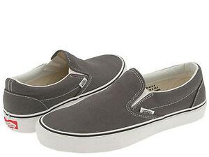 vans classic white slip on womens