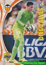 489 DIEGO ALVES BRAZILVALENCIA.CF CARD MEGACRACKS 2016 PANINI