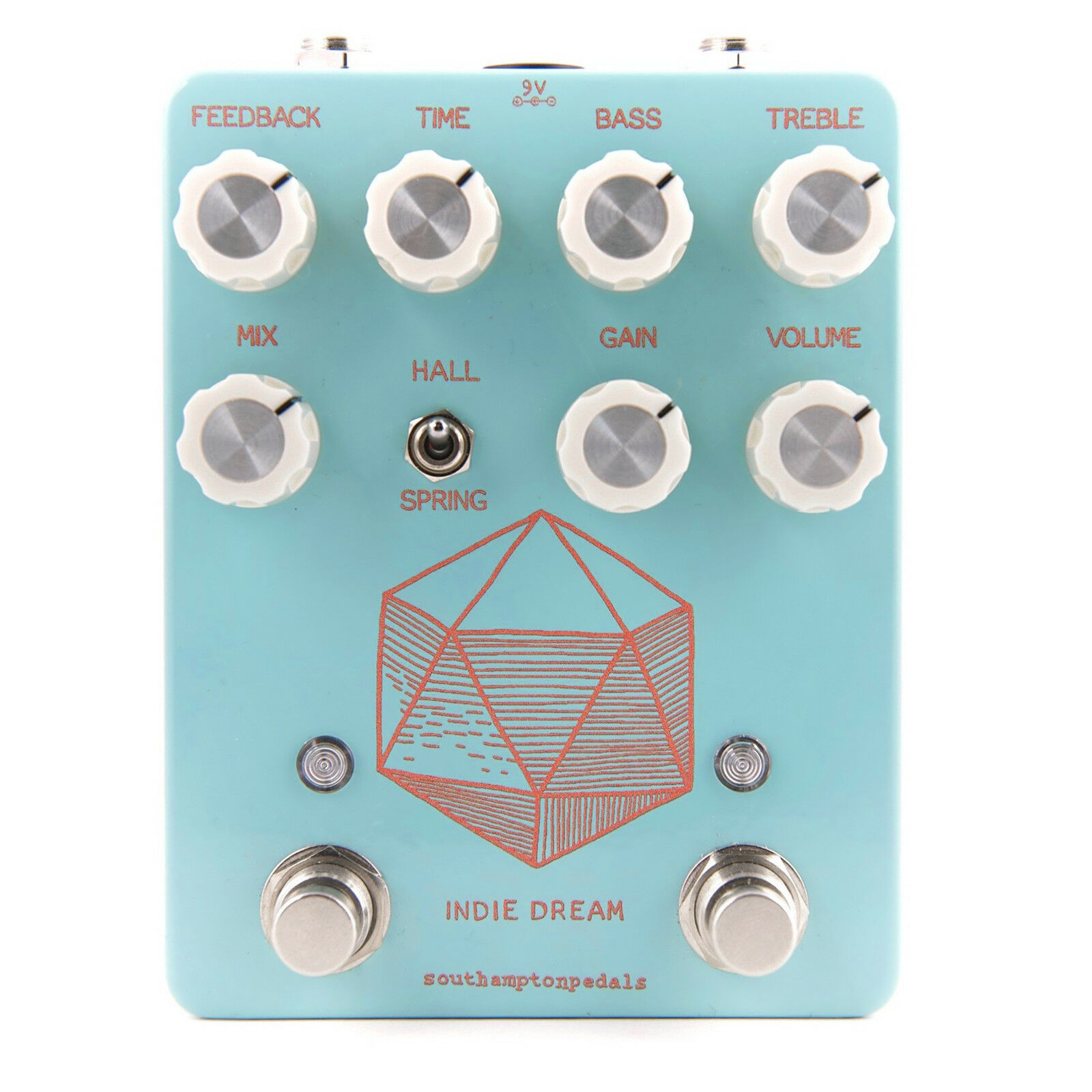 Southampton Pedals Indie Dream Overdrive, Delay & Reverb