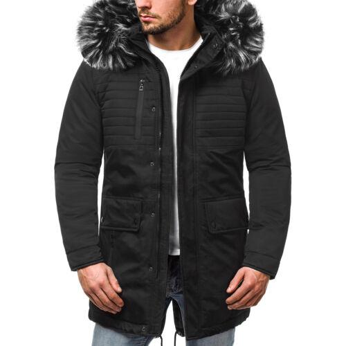 Winterjacke Wärmejacke Parke Jacke Mantel Outdoor Sweats Herren OZONEE O//99115