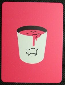 1-x-Single-card-Movie-Film-prop-Carrie-Bucket-of-blood