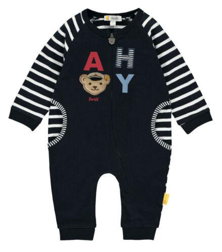 56-86 2020 NEU! STEIFF® Baby Jungen Overall Strampler Einteiler Maritim Gr