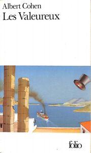 Les-Valeureux-Albert-Cohen-Editions-Gallimard-U51