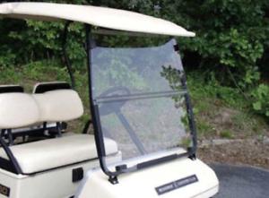 Yamaha-G2-G9-Clear-Fold-Down-Golf-Cart-Windshield-US-Made