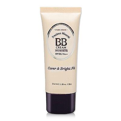 [ETUDE HOUSE] Precious Mineral BB Cream Cover & Bright Fit (SPF30/PA++) 35g