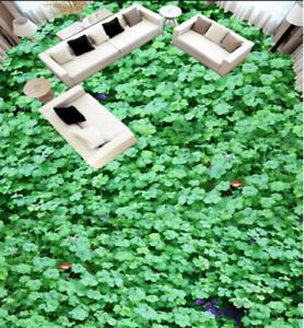 3D Green Plants 605 Floor WallPaper Murals Wall Print 5D AJ WALLPAPER UK Lemon