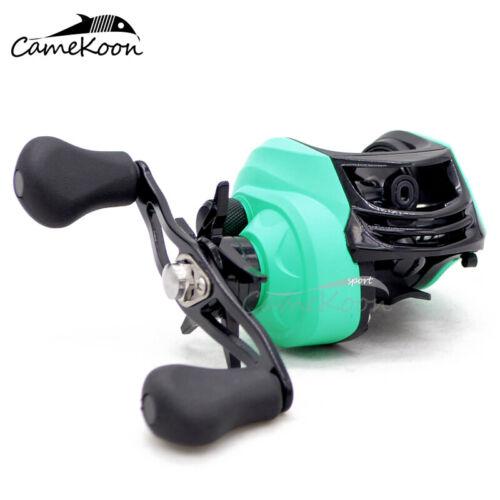CHOOSE YOUR MODEL Multicolour Baitcasting Fishing Reel 7.1:1 Gear Ratio