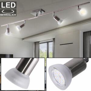 Design Decken Wand Spot Aufbau Strahler Lampe Leuchte ALU Chrom Wohn Zimmer Büro