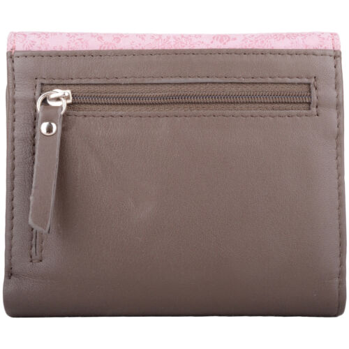 Ladies Purse Coin Credit Card Holder Womens Leather Bi-Fold Slim Money