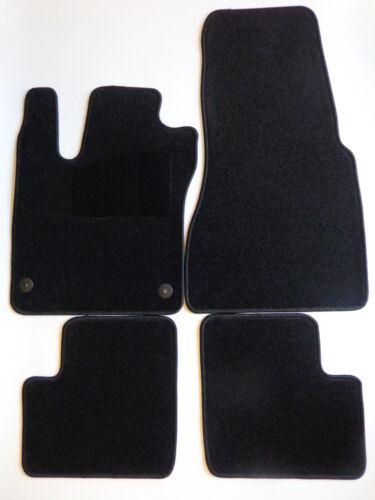 Fußmatten Automatten für Renault Twingo 2  Bj.2007-08//2014 schwarz